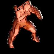 Overhead hook body action