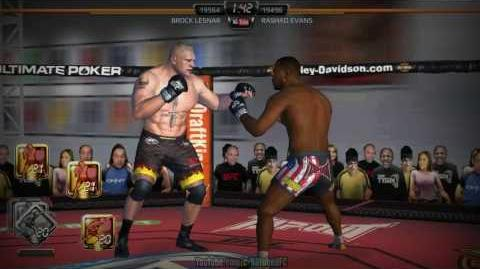 EA SPORTS UFC mobile Lesnar vs Evans (MOD - Shorts) 모바일UFC 브록레스너