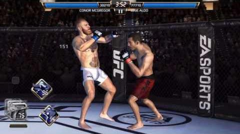 Conor Mc Gregor vs Jose Aldo