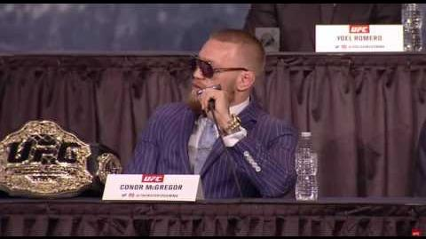 Conor McGregor Who the fuck is that guy?!