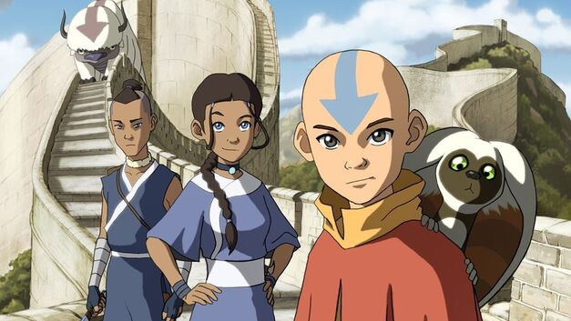 Team-Avatar-The-Last-Airbender-Aang-Katara-Sokka