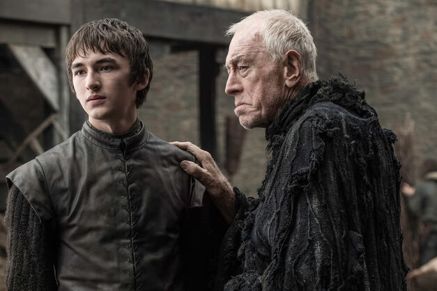 Game of Thrones - Raven and Bran three-eyed raven