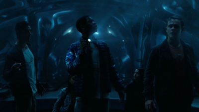 'Power Rangers' Clip Shows Off the Spaceship and Alpha-5