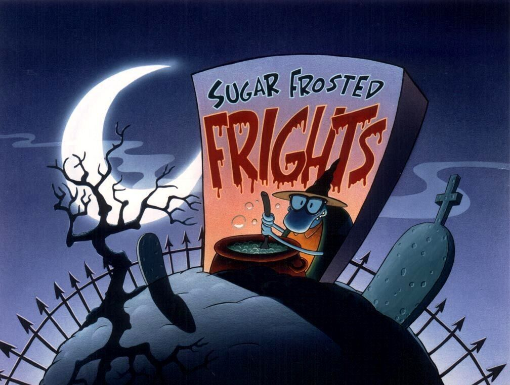Filbert and Sugar Frosted Frights in Rocko's Modern Life