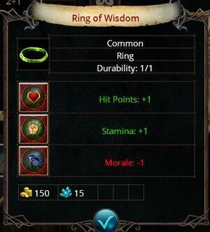 Ring of wisdom