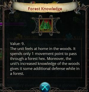 Forest knowledge