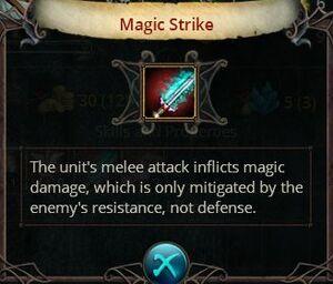 Magic strike