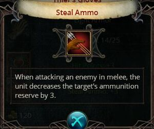 Steal ammo