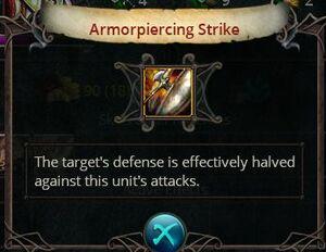 Armorpiercing Strike