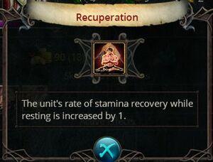 Recuperation