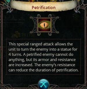 Petrification