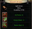 Assassin's Bracers