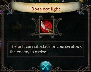 Does Not Fight