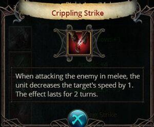 Crippling strike