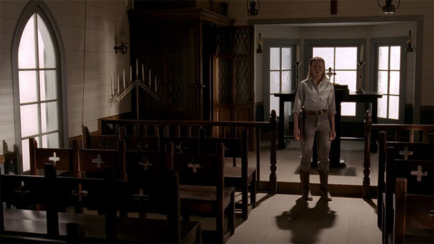 dolores in a church westworld ep-9