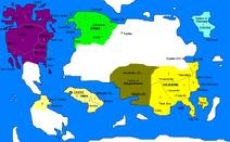 Map of Eagleia-Political