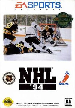 NHL '94 Cover