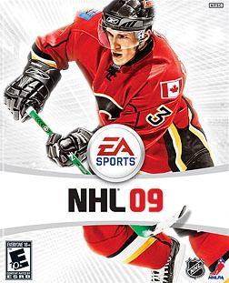 NHL 09 Coverart