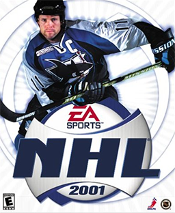 NHL 2001 Coverart