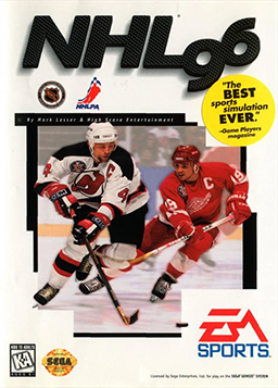 NHL 96 Coverart