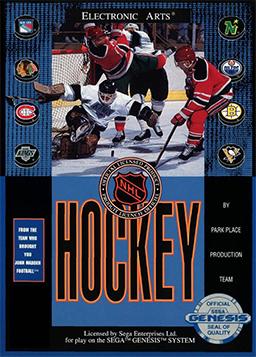 NHL Hockey Coverart