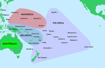 Pacific Culture Areas