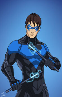 Nightwing New Suit