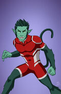 Beast Boy (Red Suit)