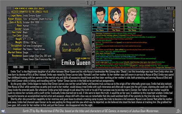 Emiko Queen 1