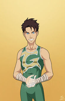 Young Dick Grayson