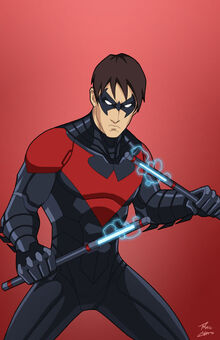 Nightwing (Red Costume)