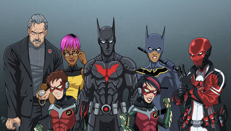 Bat Family 2027 in costume