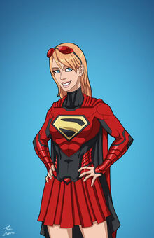 Supergirl (Kara Red Suit)