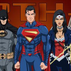 Animated Justice League (E27 Style)