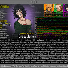 Oracle Files: Kay Challis (Crazy Jane) (Old Version)