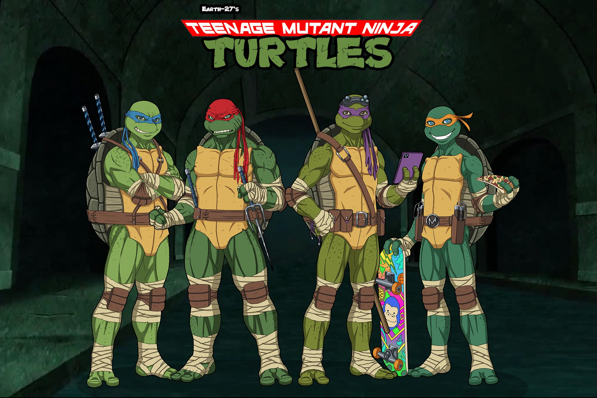 Teenage Mutant Ninja Turtles Earth 27 Wiki Fandom