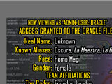 Oracle Files: Oscura