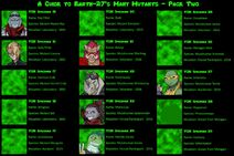 E27 for Nitwits Guide to Mutants Page 2
