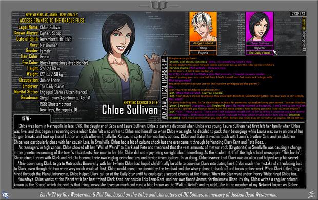 Chloe Sullivan 1