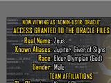 Oracle Files: Zeus