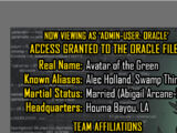 Oracle Files: Swamp Thing
