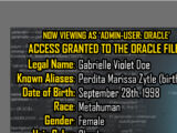 Oracle Files: Gabrielle Doe 1