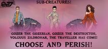 Gozer and the Gozerians