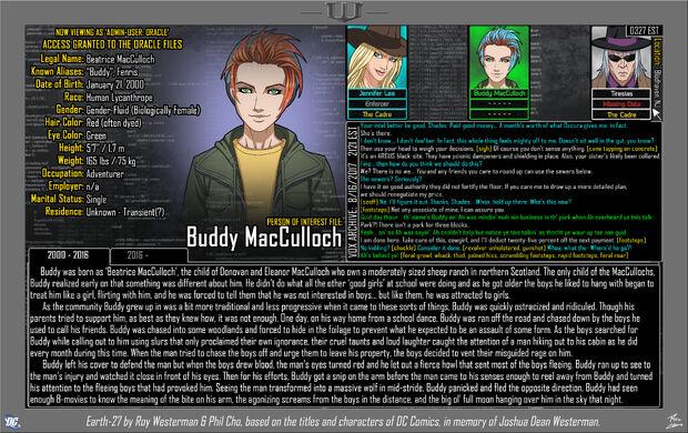 Buddy MacCulloch 1