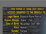 Oracle Files: Katie Pierce 1