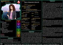Network Files Dana Barrett 1