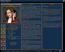 Cerebro Files Moira MacTaggert-Xavier