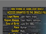 Oracle Files: John Henry Irons 1