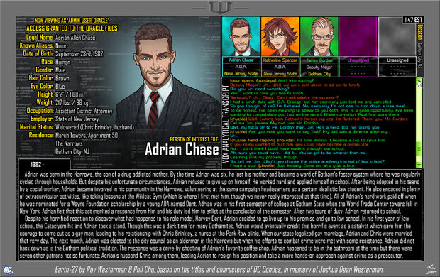Adrian Chase 1
