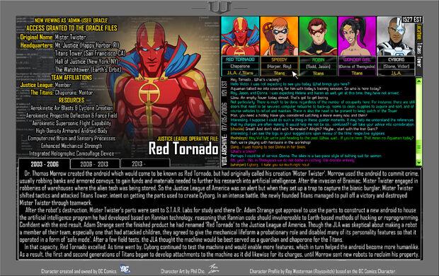 Red Tornado 1